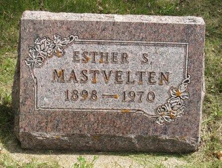 MASTVELTEN, ESTHER S. - Bottineau County, North Dakota | ESTHER S. MASTVELTEN - North Dakota Gravestone Photos