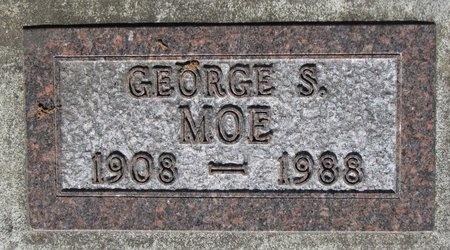 MOE, GEORGE S. - Bottineau County, North Dakota | GEORGE S. MOE - North Dakota Gravestone Photos