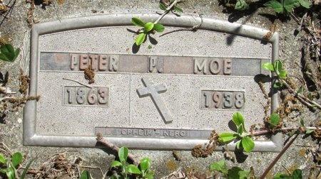 MOE, PETER P. - Bottineau County, North Dakota   PETER P. MOE - North Dakota Gravestone Photos