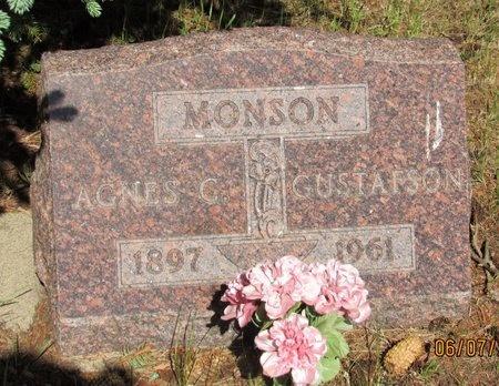 MONSON, AGNES C. - Bottineau County, North Dakota | AGNES C. MONSON - North Dakota Gravestone Photos