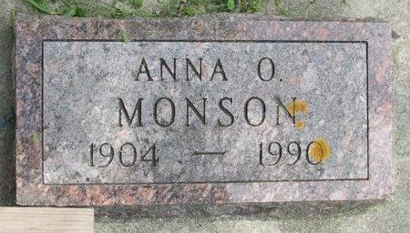 MONSON, ANNA O. - Bottineau County, North Dakota | ANNA O. MONSON - North Dakota Gravestone Photos