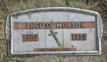 MONSON, ENGELO - Bottineau County, North Dakota | ENGELO MONSON - North Dakota Gravestone Photos
