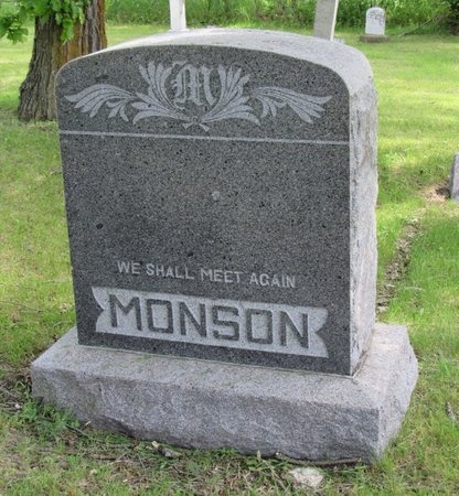 MONSON, FAMILY MARKER - Bottineau County, North Dakota | FAMILY MARKER MONSON - North Dakota Gravestone Photos