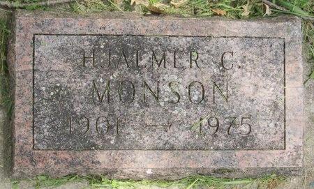 MONSON, HJALMER C. - Bottineau County, North Dakota | HJALMER C. MONSON - North Dakota Gravestone Photos