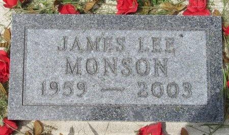 MONSON, JAMES LEE - Bottineau County, North Dakota   JAMES LEE MONSON - North Dakota Gravestone Photos