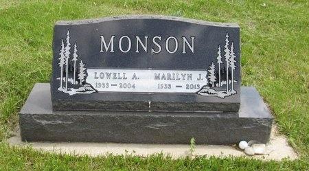 MONSON, MARILYN J. - Bottineau County, North Dakota | MARILYN J. MONSON - North Dakota Gravestone Photos