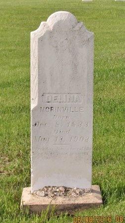 MORINVILLE, DELINA - Bottineau County, North Dakota | DELINA MORINVILLE - North Dakota Gravestone Photos