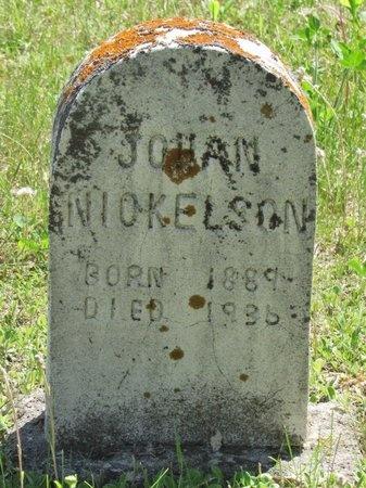 NICKELSON, JOHAN - Bottineau County, North Dakota | JOHAN NICKELSON - North Dakota Gravestone Photos
