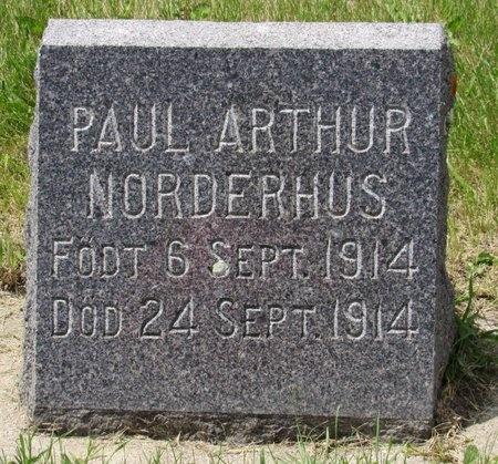 NORDERHUS, PAUL ARTHUR - Bottineau County, North Dakota | PAUL ARTHUR NORDERHUS - North Dakota Gravestone Photos