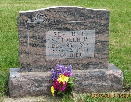 NORDERHUS, SEVER H. - Bottineau County, North Dakota | SEVER H. NORDERHUS - North Dakota Gravestone Photos