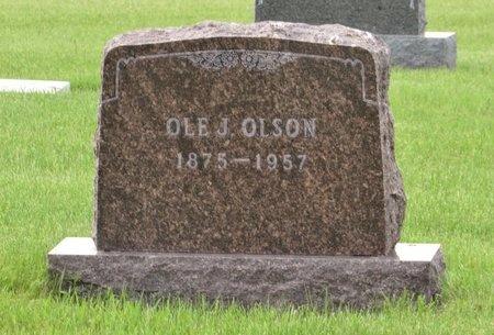 OLSON, OLE J. - Bottineau County, North Dakota | OLE J. OLSON - North Dakota Gravestone Photos