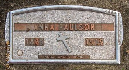 PAULSON, ANNA - Bottineau County, North Dakota | ANNA PAULSON - North Dakota Gravestone Photos