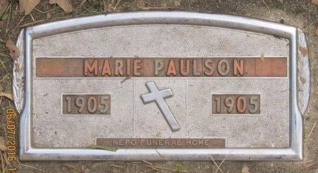PAULSON, MARIE - Bottineau County, North Dakota | MARIE PAULSON - North Dakota Gravestone Photos