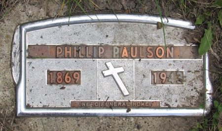 PAULSON, PHILLIP - Bottineau County, North Dakota | PHILLIP PAULSON - North Dakota Gravestone Photos