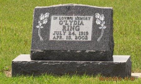 RING, O'LYDIA - Bottineau County, North Dakota   O'LYDIA RING - North Dakota Gravestone Photos