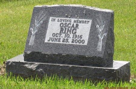 RING, OSCAR - Bottineau County, North Dakota   OSCAR RING - North Dakota Gravestone Photos