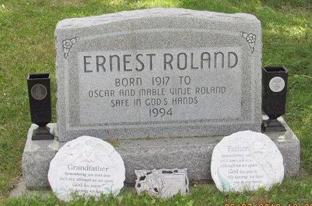 ROLAND, ERNEST - Bottineau County, North Dakota | ERNEST ROLAND - North Dakota Gravestone Photos