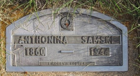 SAMSKI, ANTHONINA - Bottineau County, North Dakota   ANTHONINA SAMSKI - North Dakota Gravestone Photos