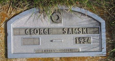 SAMSKI, GEORGE - Bottineau County, North Dakota | GEORGE SAMSKI - North Dakota Gravestone Photos