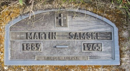 SAMSKI, MARTIN - Bottineau County, North Dakota | MARTIN SAMSKI - North Dakota Gravestone Photos