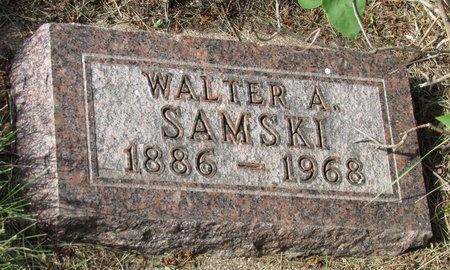 SAMSKI, WALTER A. - Bottineau County, North Dakota | WALTER A. SAMSKI - North Dakota Gravestone Photos