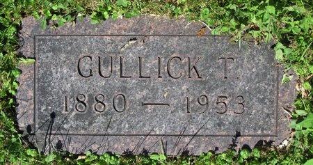 STROM, GULLICK T. - Bottineau County, North Dakota | GULLICK T. STROM - North Dakota Gravestone Photos
