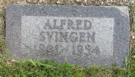 SVINGEN, ALFRED - Bottineau County, North Dakota | ALFRED SVINGEN - North Dakota Gravestone Photos