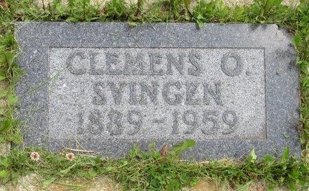 SVINGEN, CLEMENS O. - Bottineau County, North Dakota | CLEMENS O. SVINGEN - North Dakota Gravestone Photos