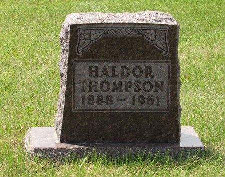 THOMPSON, HALDOR - Bottineau County, North Dakota | HALDOR THOMPSON - North Dakota Gravestone Photos