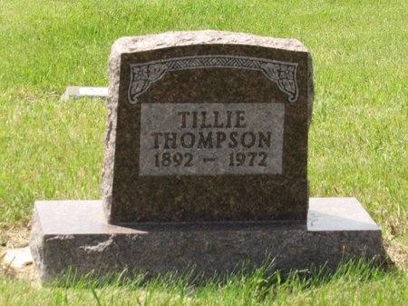 THOMPSON, TILLIE - Bottineau County, North Dakota | TILLIE THOMPSON - North Dakota Gravestone Photos