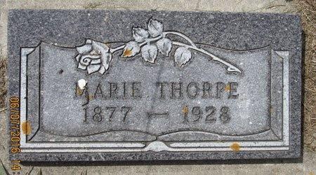 THORPE, MARIE - Bottineau County, North Dakota   MARIE THORPE - North Dakota Gravestone Photos