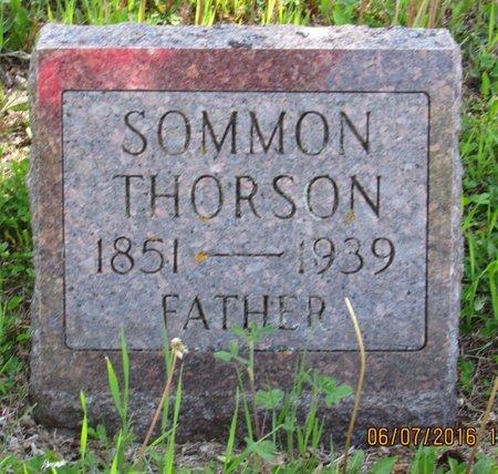 THORSON, SOMMON - Bottineau County, North Dakota | SOMMON THORSON - North Dakota Gravestone Photos