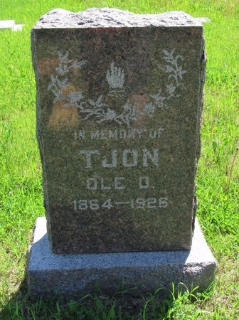 TJON, OLE O. - Bottineau County, North Dakota   OLE O. TJON - North Dakota Gravestone Photos