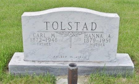 TOLSTAD, CARL M. - Bottineau County, North Dakota | CARL M. TOLSTAD - North Dakota Gravestone Photos