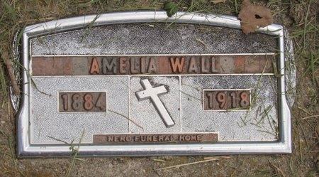 WALL, AMELIA - Bottineau County, North Dakota | AMELIA WALL - North Dakota Gravestone Photos
