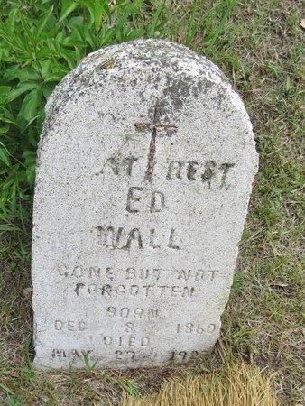 WALL, ED - Bottineau County, North Dakota | ED WALL - North Dakota Gravestone Photos