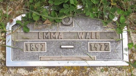 WALL, EMMA - Bottineau County, North Dakota | EMMA WALL - North Dakota Gravestone Photos
