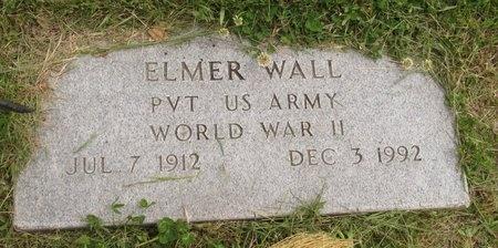 WALL, ELMER - Bottineau County, North Dakota | ELMER WALL - North Dakota Gravestone Photos