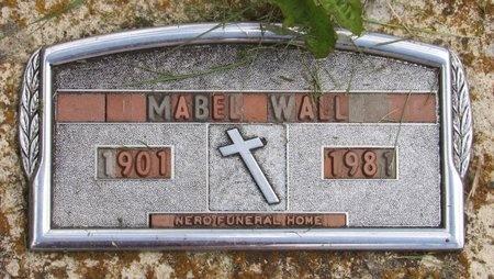 WALL, MABEL - Bottineau County, North Dakota | MABEL WALL - North Dakota Gravestone Photos