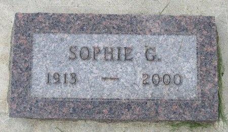 WALL, SOPHIE G. - Bottineau County, North Dakota | SOPHIE G. WALL - North Dakota Gravestone Photos