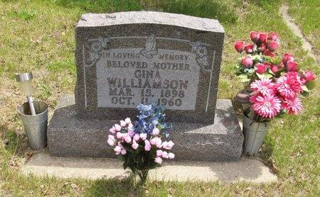 WILLIAMSON, GINA - Bottineau County, North Dakota | GINA WILLIAMSON - North Dakota Gravestone Photos