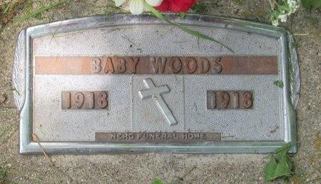 WOODS, BABY - Bottineau County, North Dakota   BABY WOODS - North Dakota Gravestone Photos