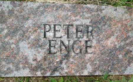 ENGE, PETER - Bowman County, North Dakota | PETER ENGE - North Dakota Gravestone Photos