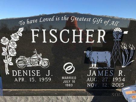 FISCHER, JAMES R. - Bowman County, North Dakota   JAMES R. FISCHER - North Dakota Gravestone Photos
