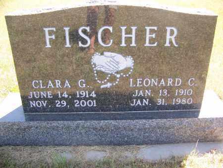 FISCHER, LEONARD C. - Bowman County, North Dakota | LEONARD C. FISCHER - North Dakota Gravestone Photos