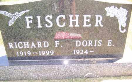 FISCHER, RICHARD F. - Bowman County, North Dakota | RICHARD F. FISCHER - North Dakota Gravestone Photos