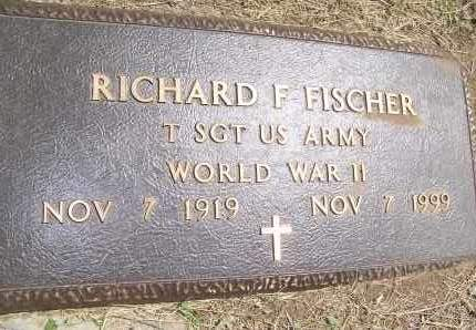 FISCHER, RICHARD F. - Bowman County, North Dakota | RICHARD F. FISCHER - North Dakota Gravestone Photos