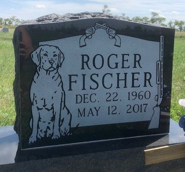 FISCHER, ROGER - Bowman County, North Dakota | ROGER FISCHER - North Dakota Gravestone Photos