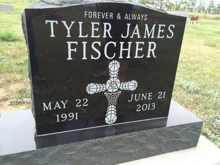 FISCHER, TYLER J. - Bowman County, North Dakota   TYLER J. FISCHER - North Dakota Gravestone Photos