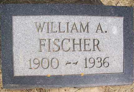 FISCHER, WILLIAM A. - Bowman County, North Dakota | WILLIAM A. FISCHER - North Dakota Gravestone Photos